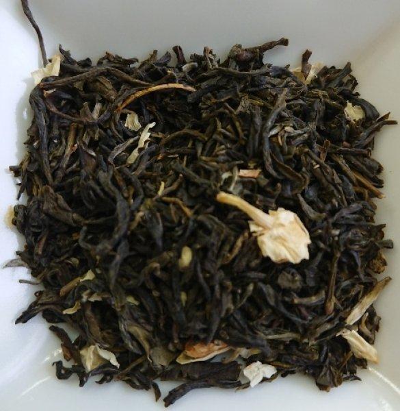 画像1: <業務用>ジャスミン茶(茉莉花茶)<1級>(リーフタイプ500g) (1)
