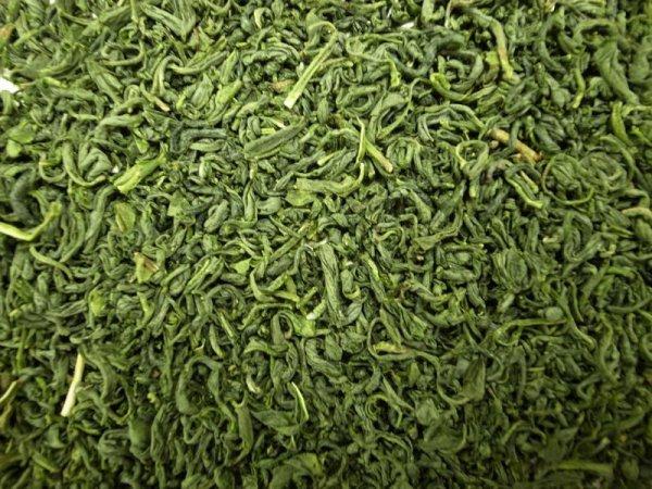 画像1: <業務用>有機釜炒緑茶(リーフタイプ 500g) (1)