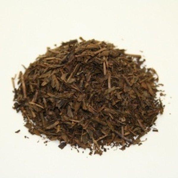 画像1: <業務用>有機ほうじ茶(リーフタイプ500g) (1)